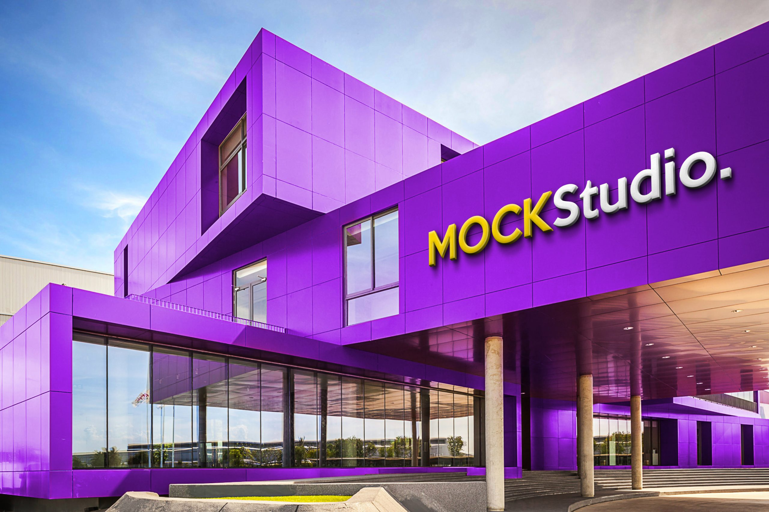 Studio Building Mockup