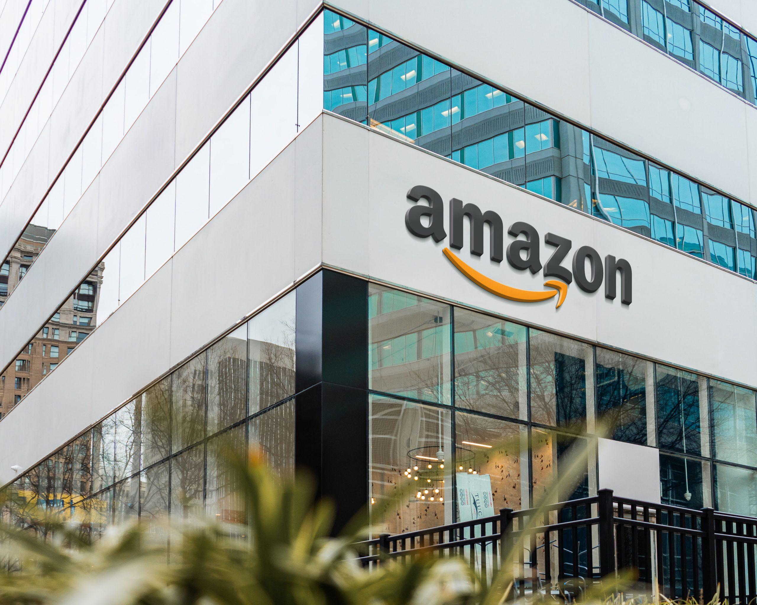 Amazon Logo Famous Store Logo Mockup