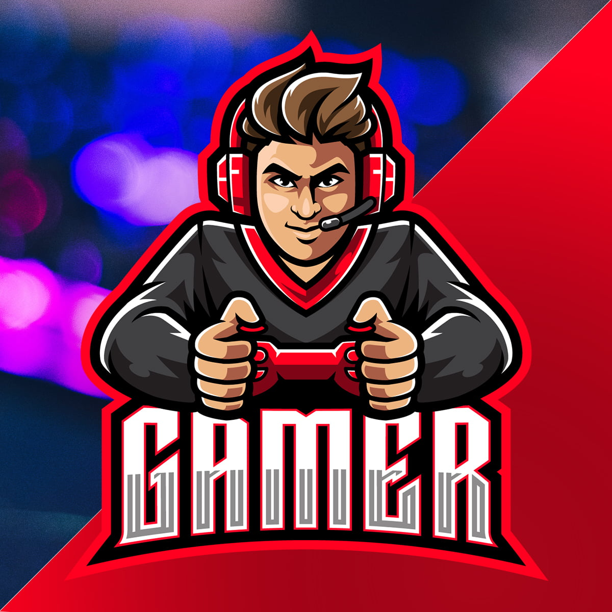 Download-Free-Gaming-Logo-Mascot-GraphicsFamily