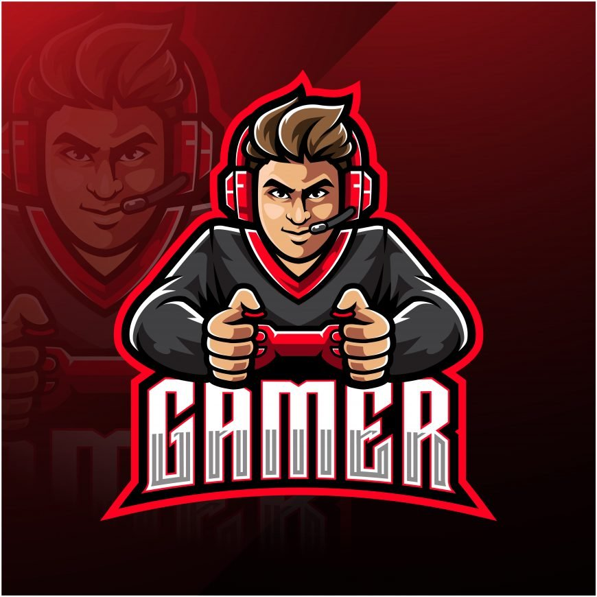 Free Gaming Logo Mascot