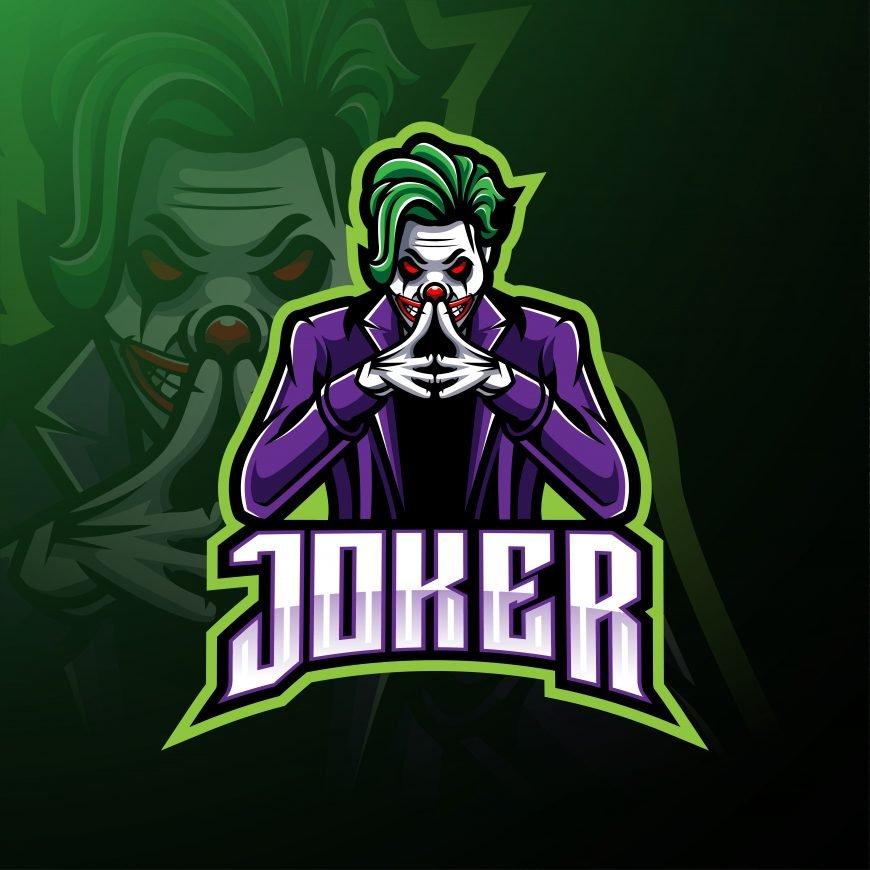 Free Joker Logo Mascot
