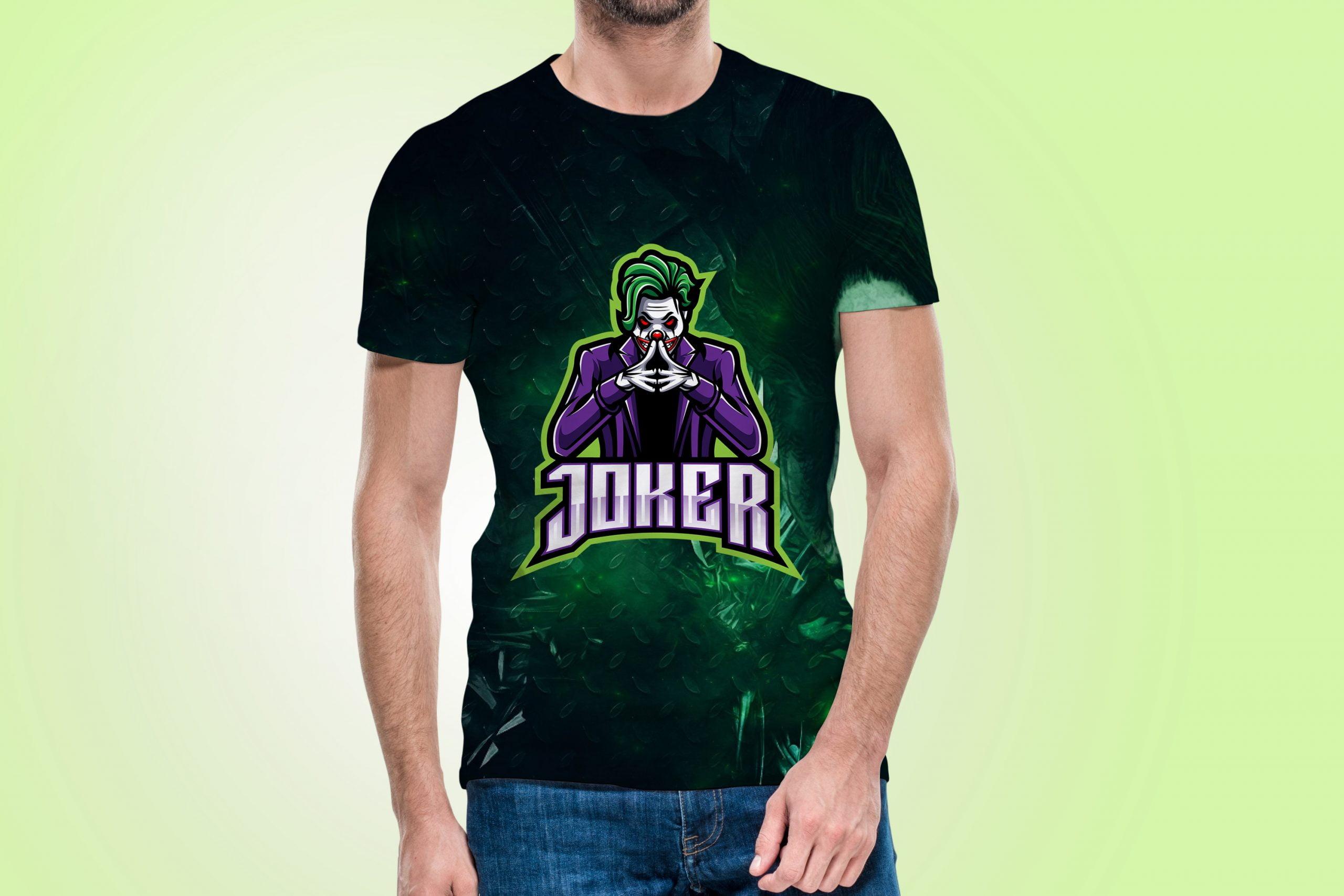 Free-Joker-Logo-Mascot-Mockup-T-Shirt