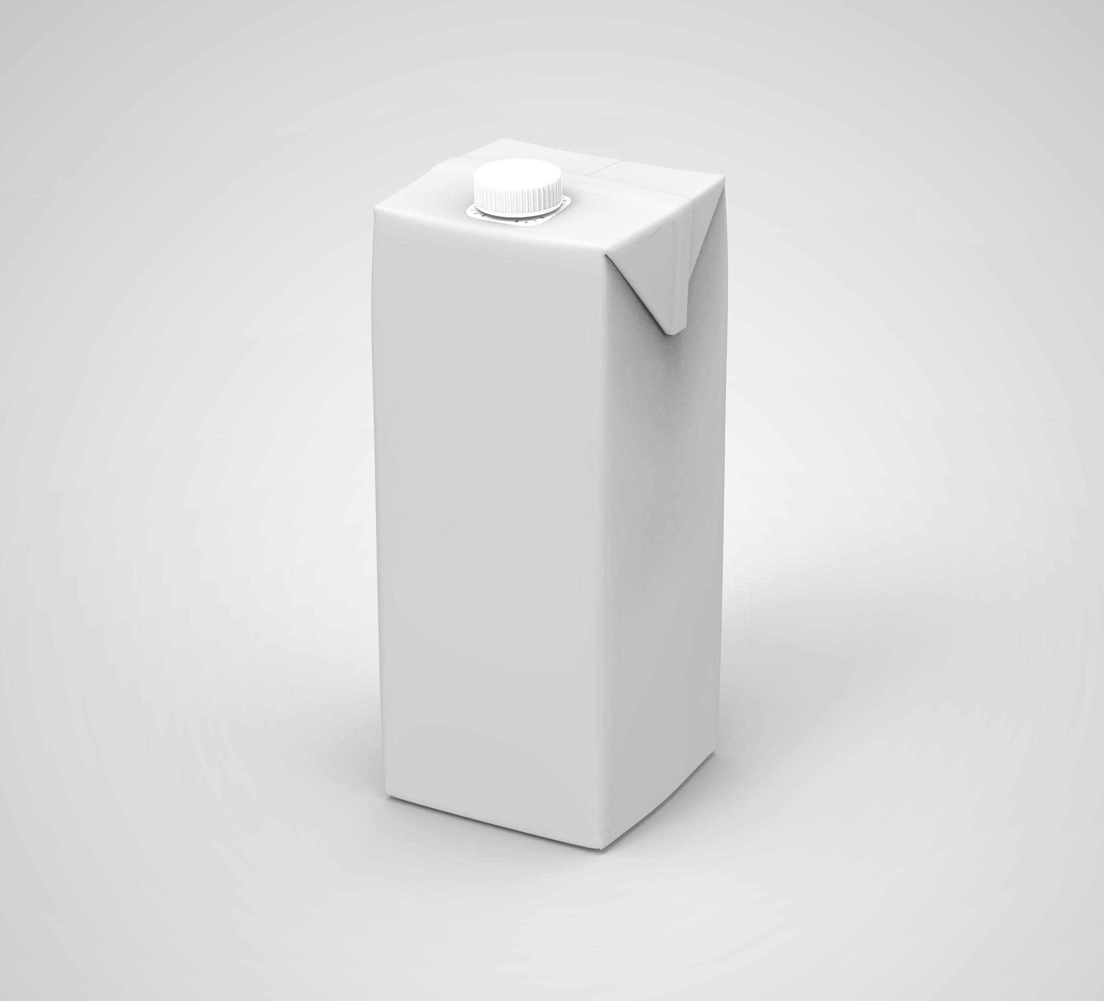 Free Paper Juice Box Mockup by GraphicsFamily