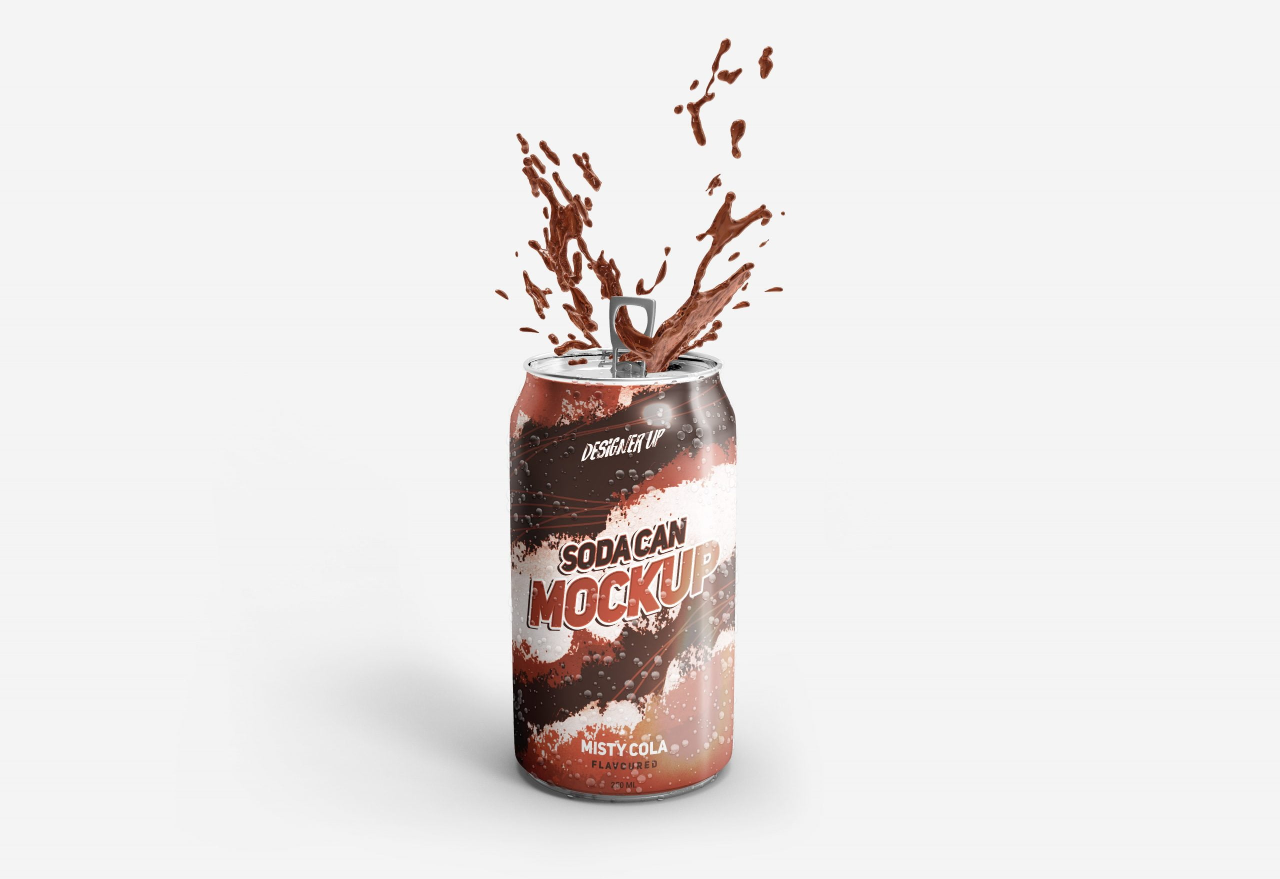 Free Soda Can Mockup Download