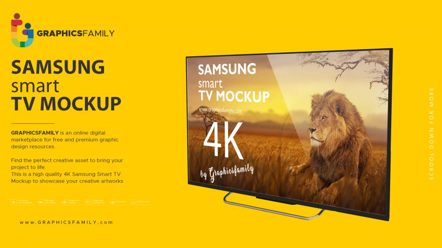 GraphicsFamily-Free-Samsung-Smart-TV-Mockup-Download