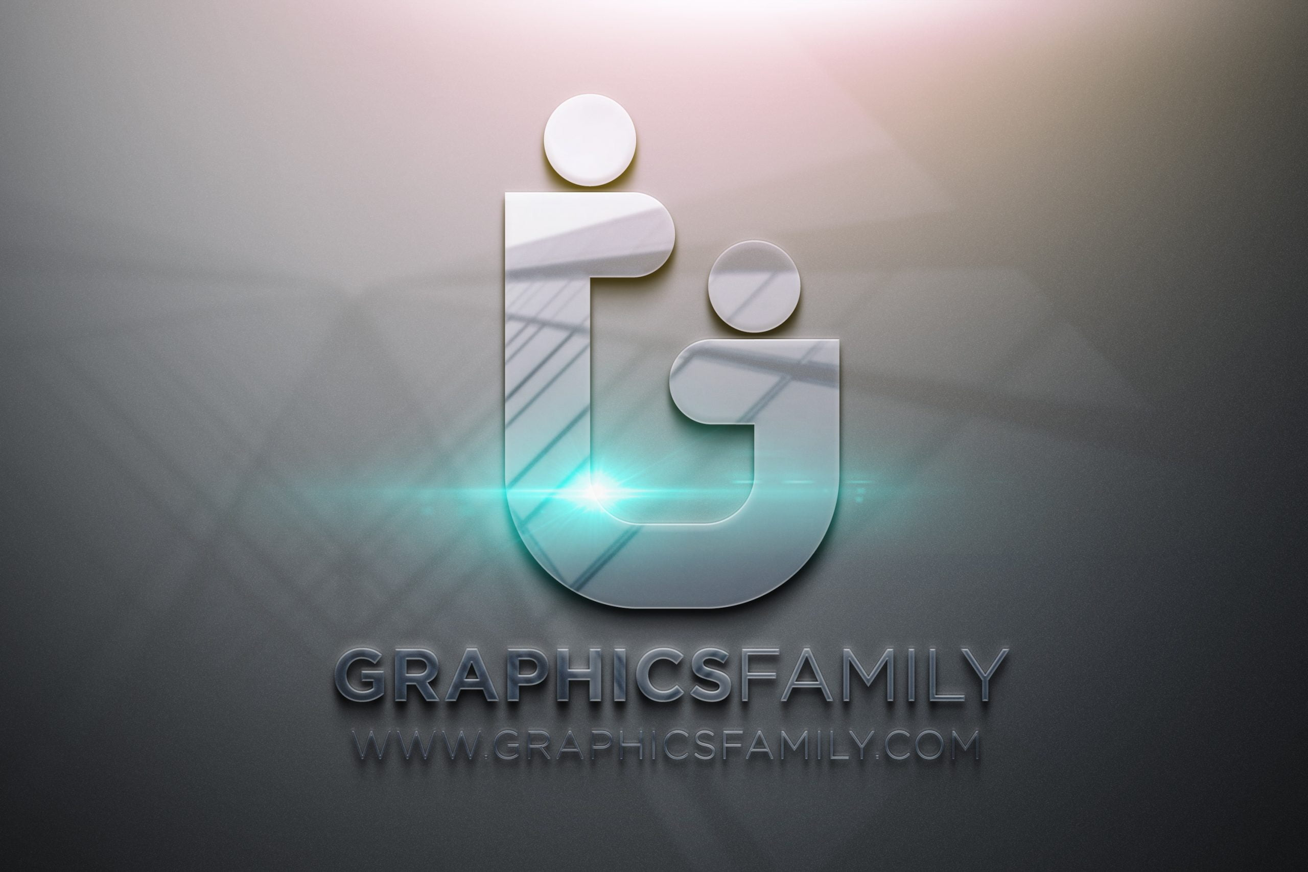 GraphicsFamily-Photoshop-Glossy-3D-Logo-Mockup