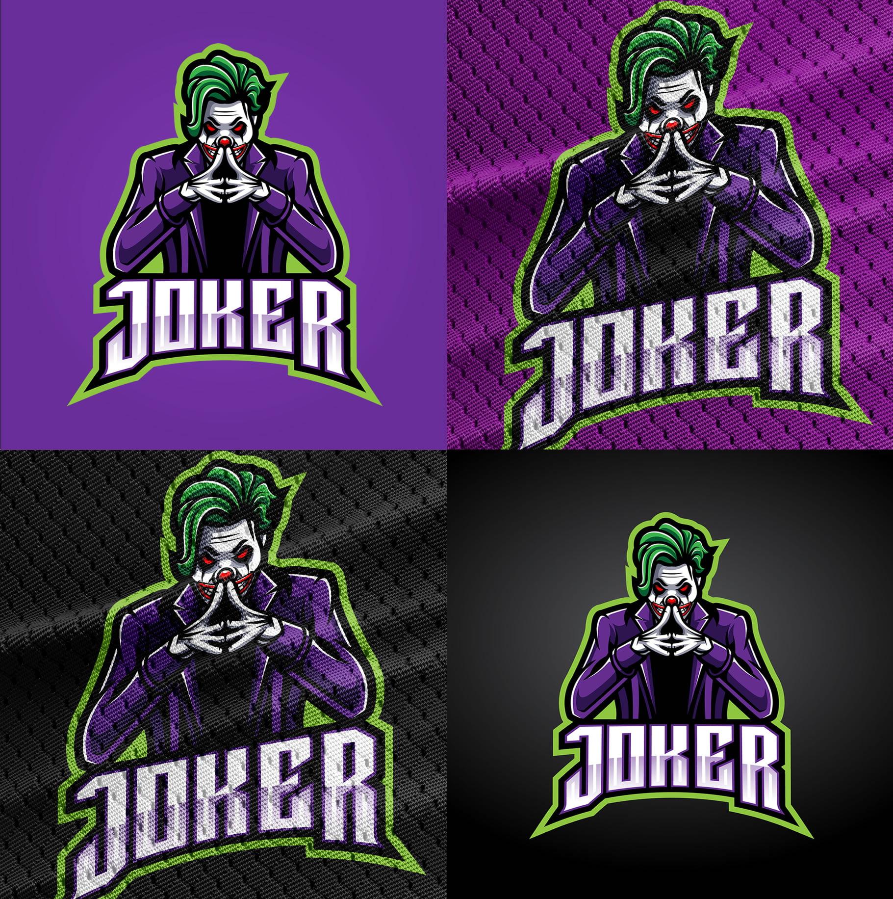 Joker-Logo-Mascot-Download