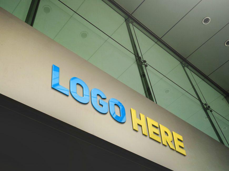 Free Download Company Branding Logo Mockup