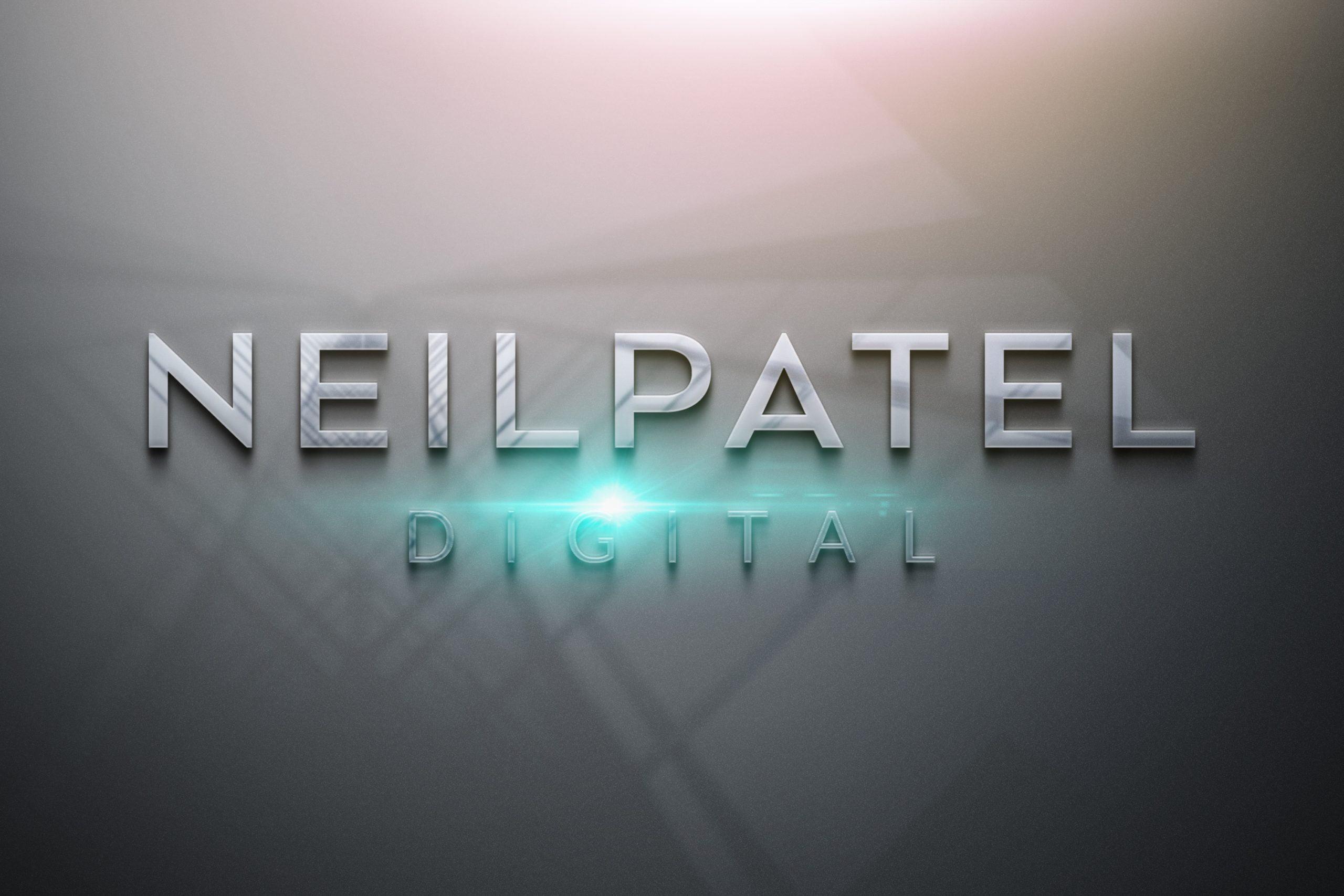 Neil-patel-Free-Photoshop-Glossy-3D-Logo-Mockup