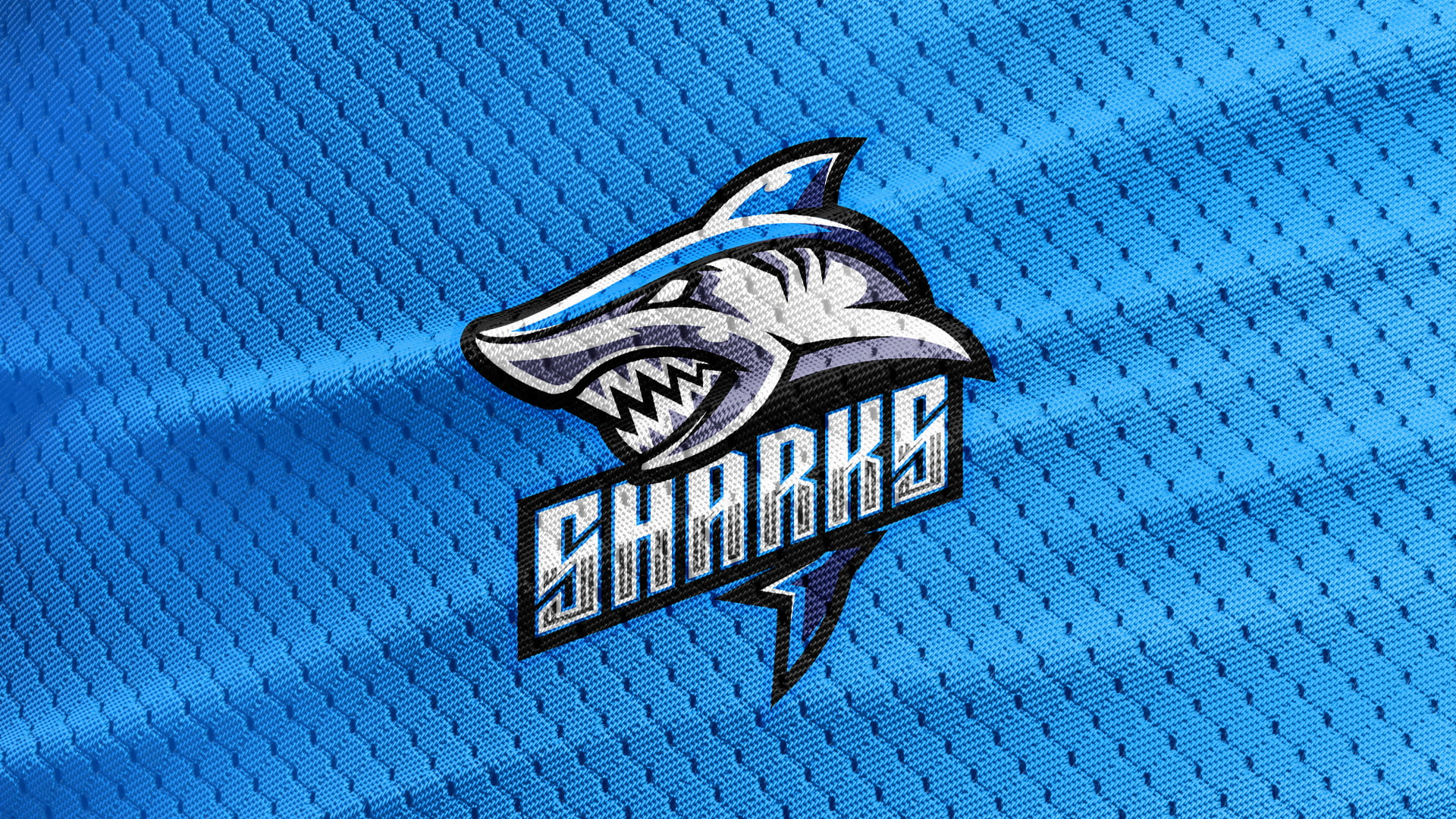 Blue-Texture-Free-Shark-Logo-Mascot-Download