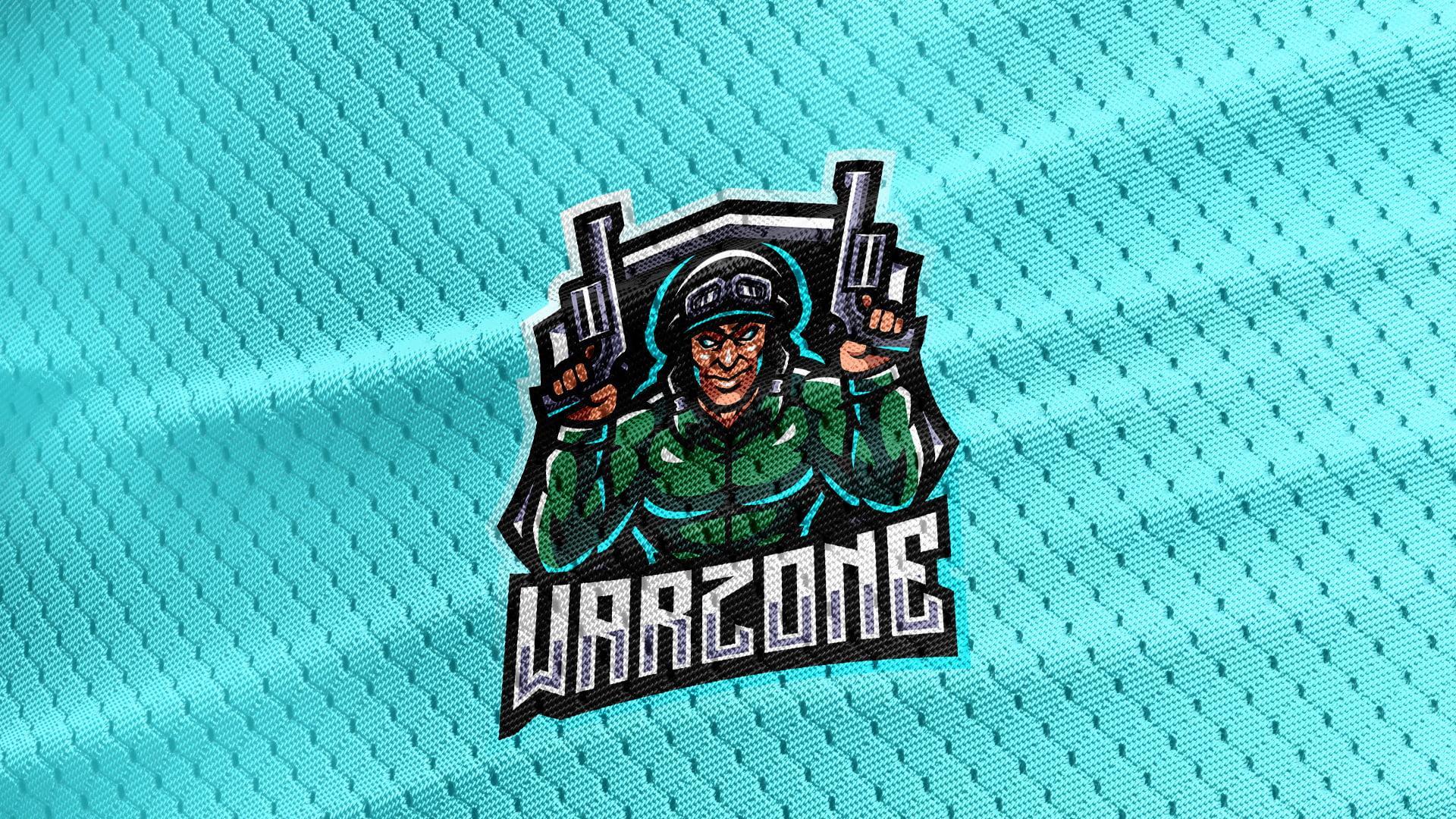 Cyan-Jersey-Texture-Free-Downloads-Warzone-Gaming-Mascot-Logo