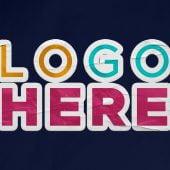 Free Sticker Logo Mockup