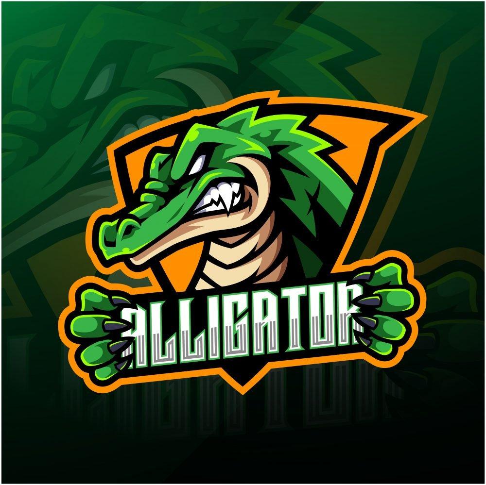 Free Alligator Logo Mascot