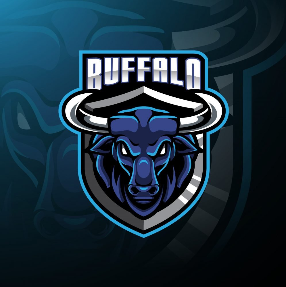 Free Buffalo Mascot Logo