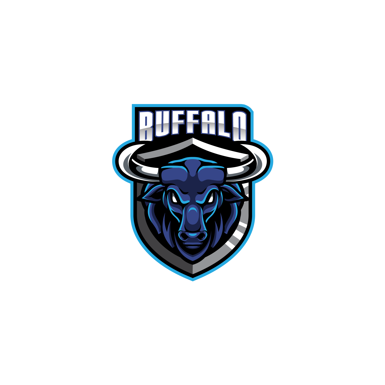 Free-Buffalo-Mascot-Logo-PNG-transparent