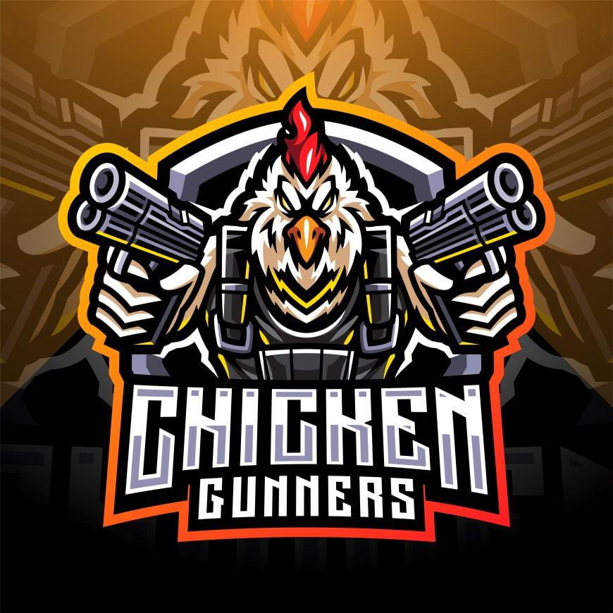 Free Chicken Mascot Logo