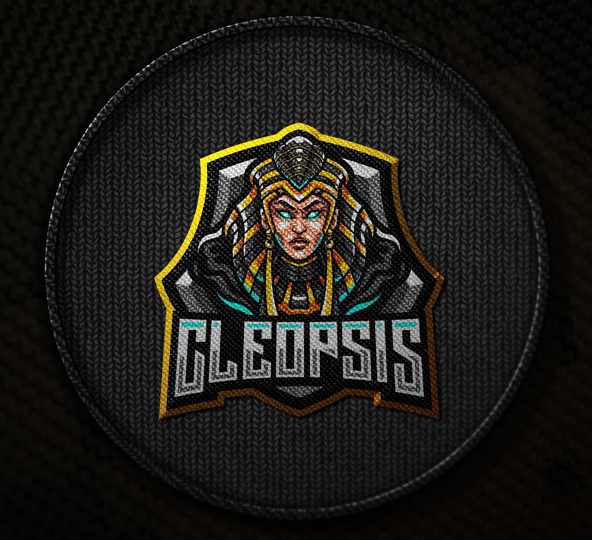 Free-Download-Cleopsis-Gaming-Mascot-Logo