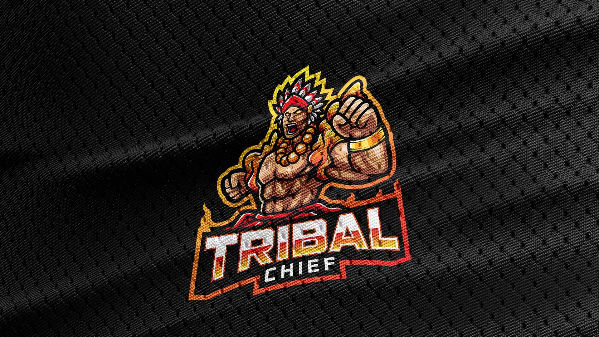 Free-Download-Tribal-Chief-Logo-Mascot