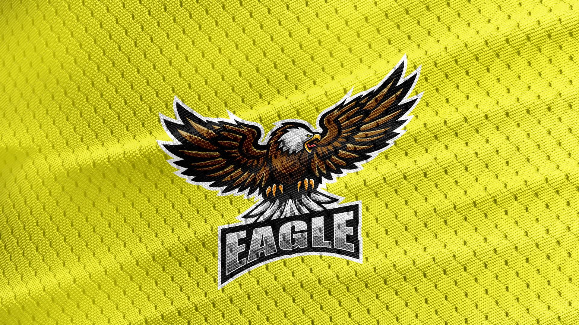 Free-Eagle-Mascot-Jersey-Texture-Logo