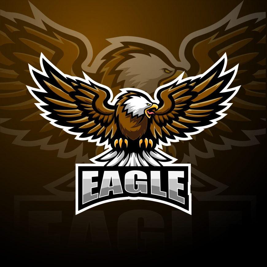 Free Eagle Mascot Logo