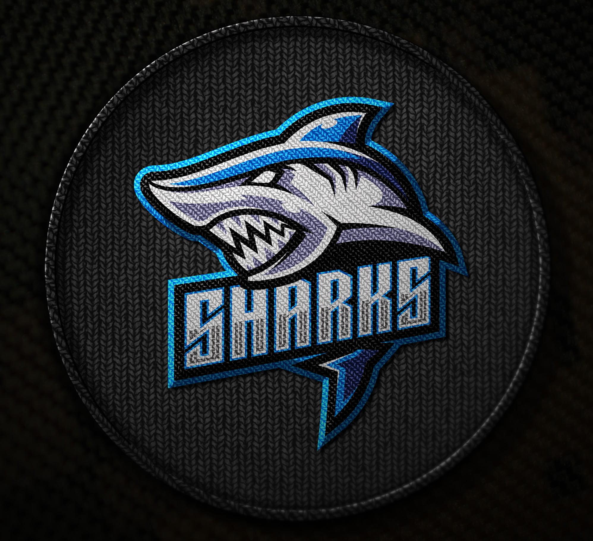 Free-Embroidered-Shark-Logo-Mascot