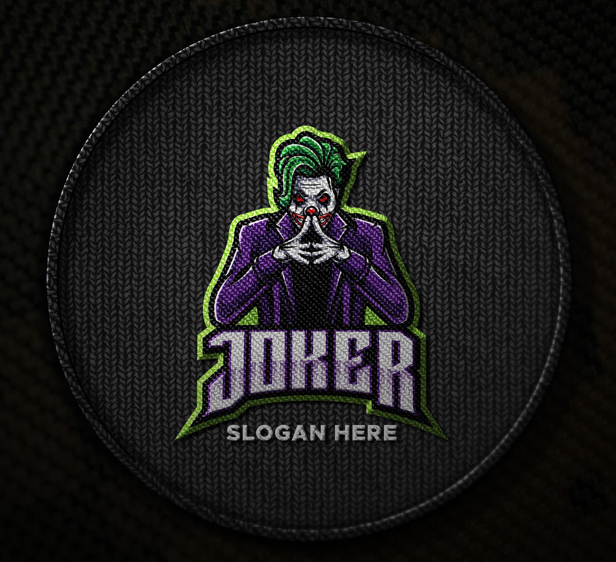 Free-Joker-Embroidered-Logo-Mascot