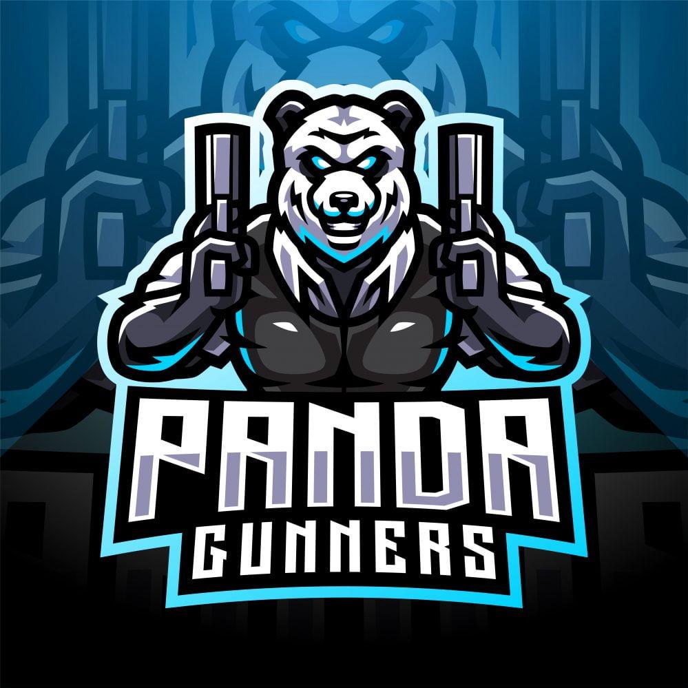 Free Panda Bear Mascot Logo