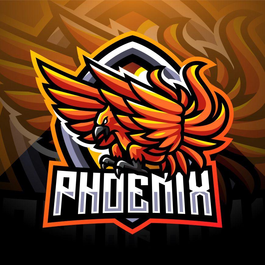 Free Phoenix Mascot Logo