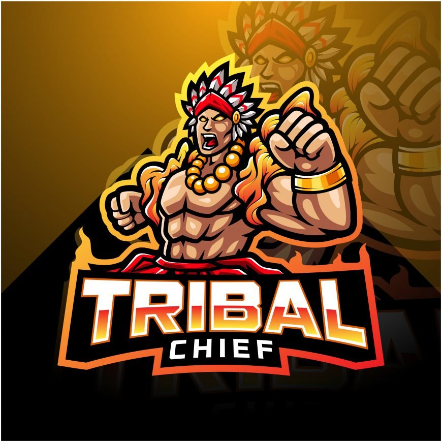 Free Tribal Chief Logo Mascot