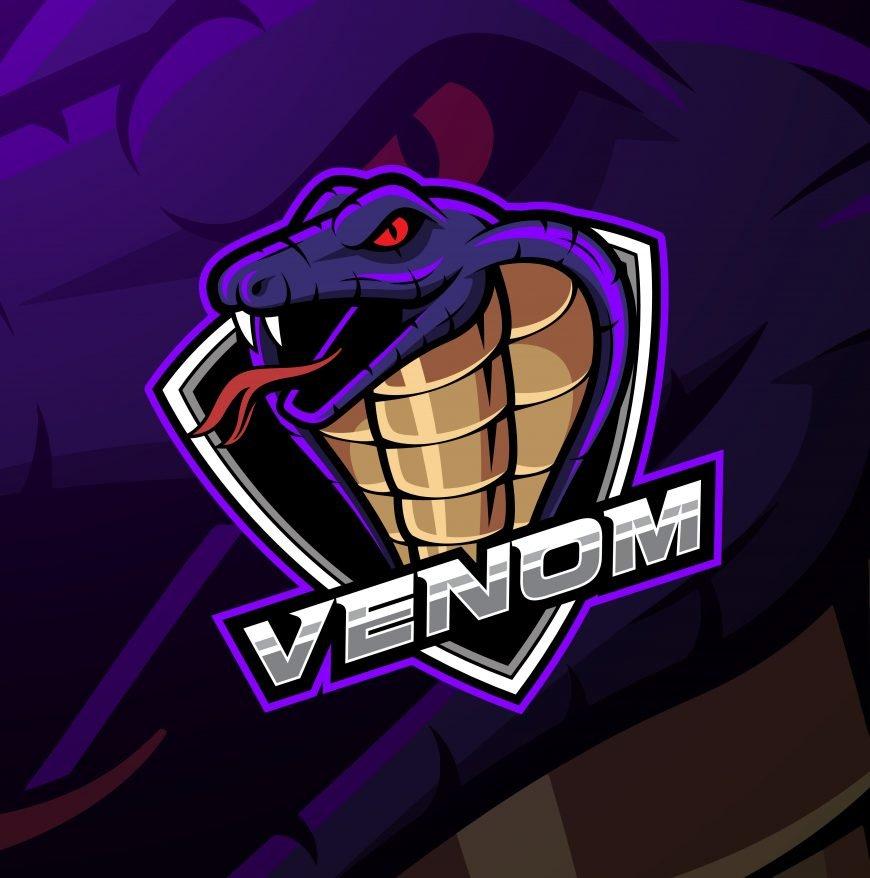 Free Venom Mascot Logo