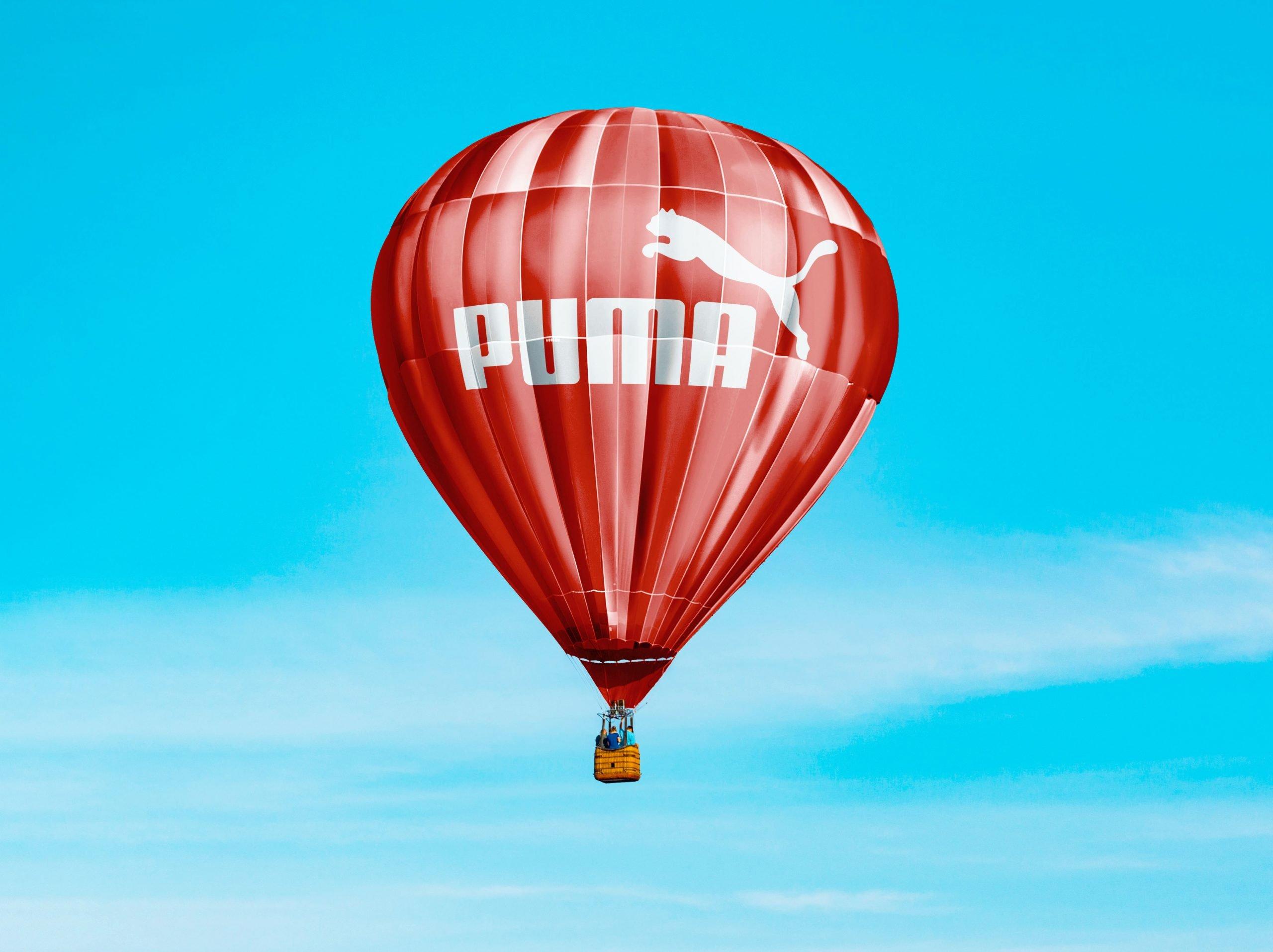 Hot Air Baloon Mockup Puma