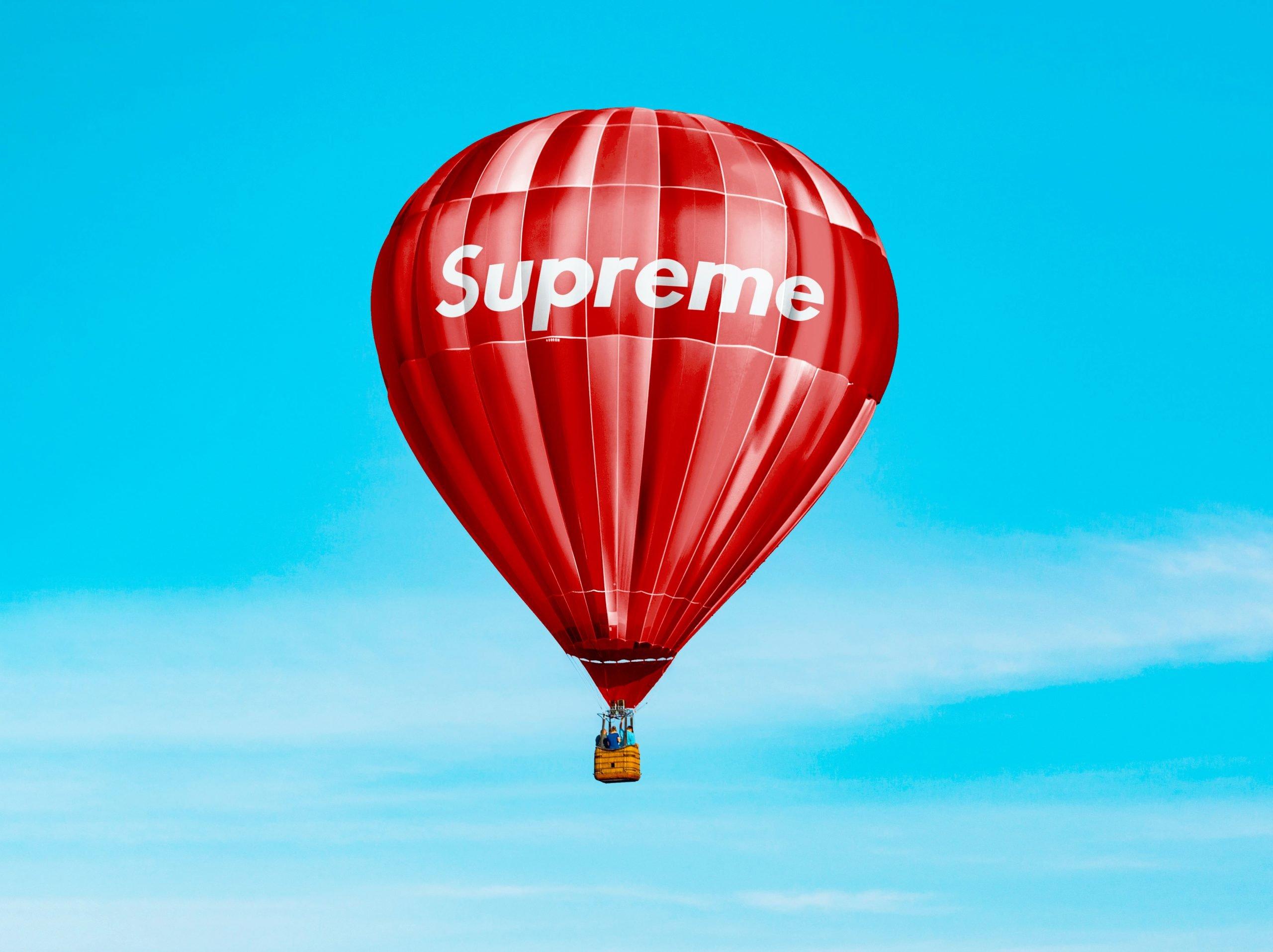 Hot Air Baloon Mockup Supreme