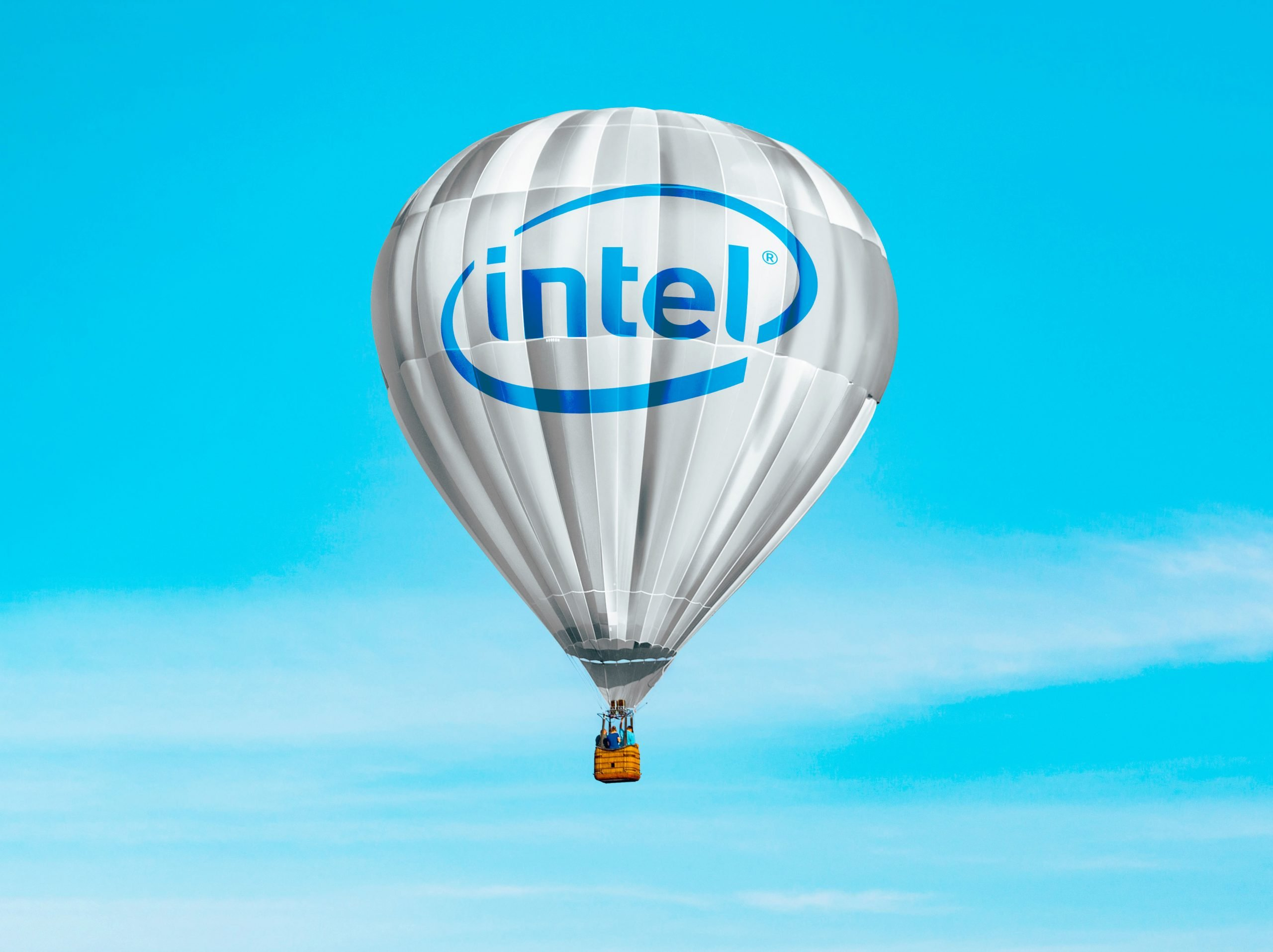 Hot Air Baloon Mockup intel