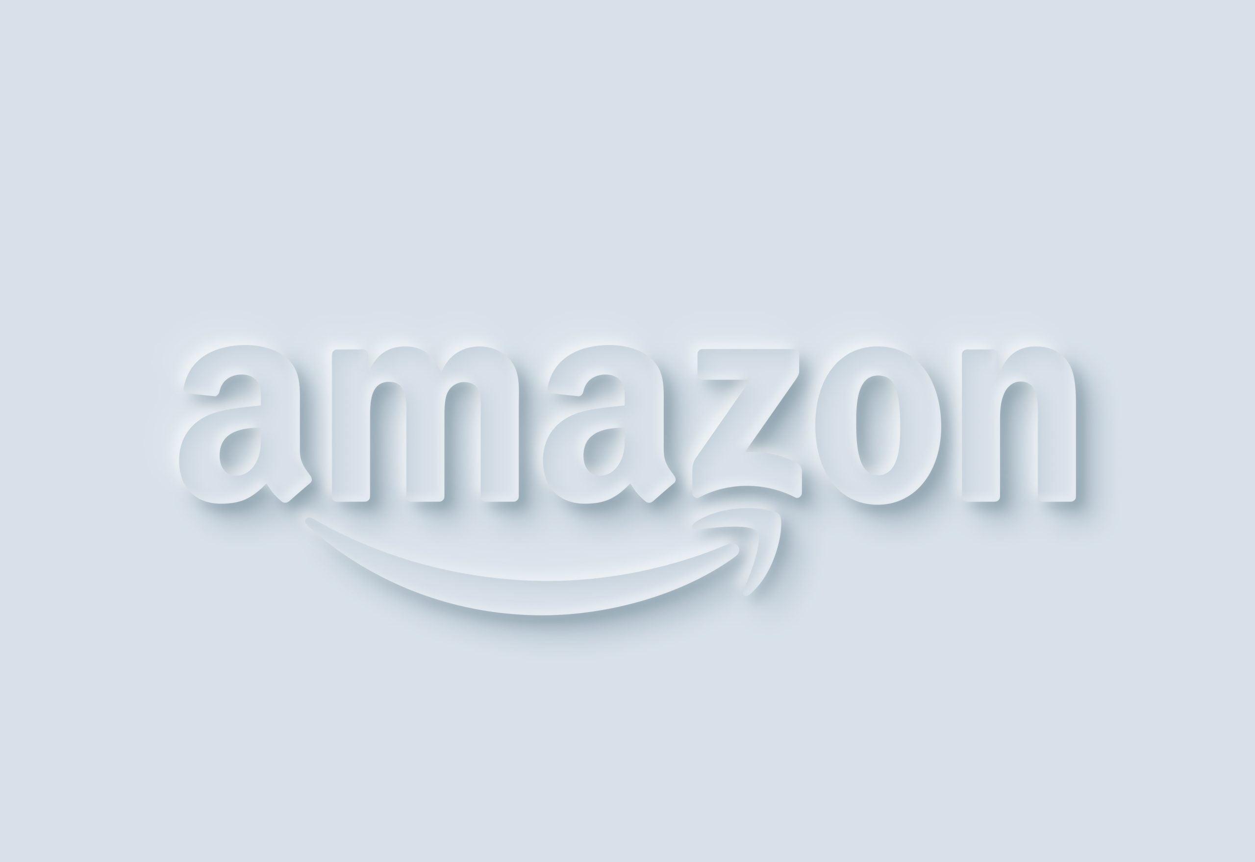 Neumorphism Logo Mockup Amazon