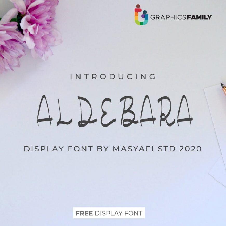 ALDEBARA Font