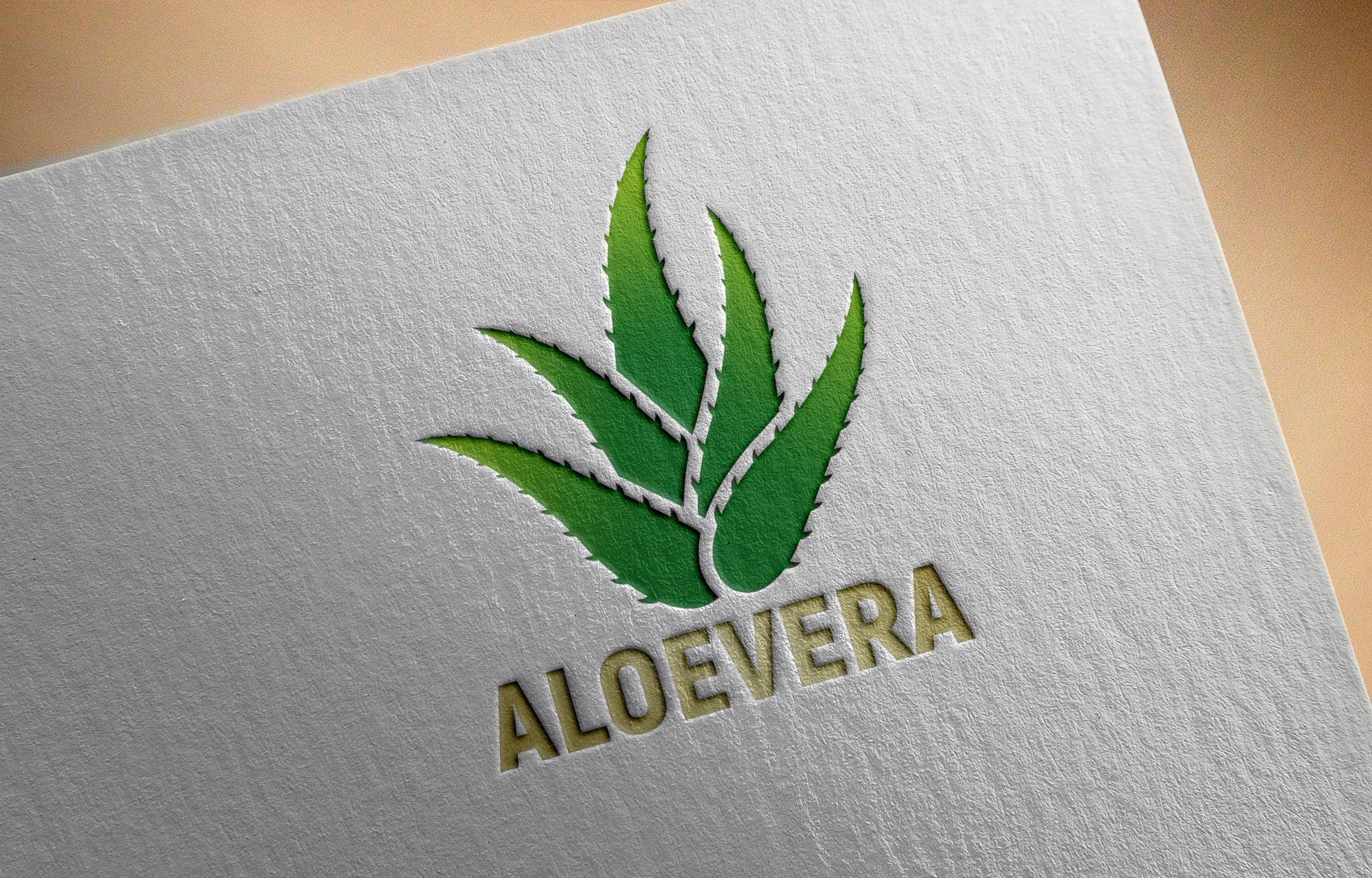 Aloevera-Logo-Design-Free-PSD-Download