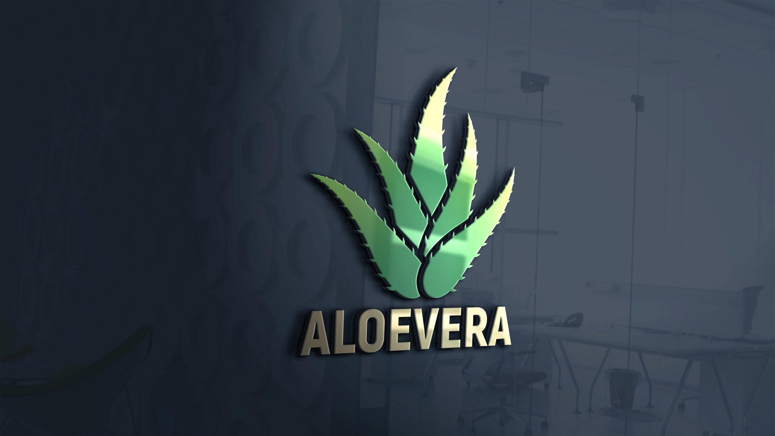 Aloevera-Logo-Design