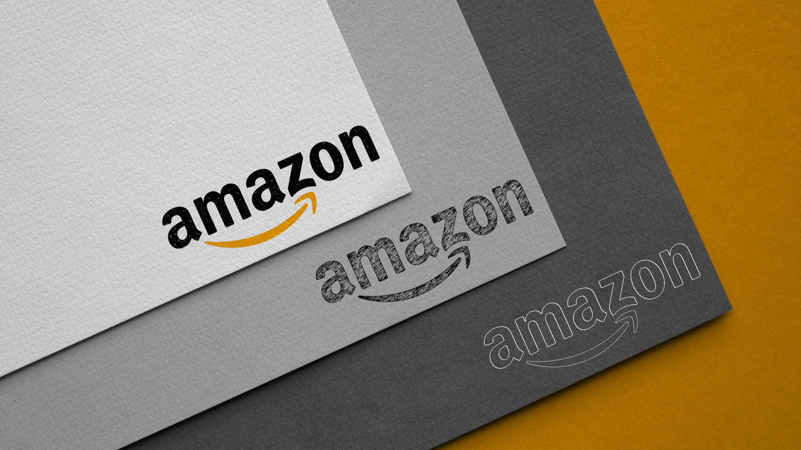 Carboard Logo Mockup Amazon