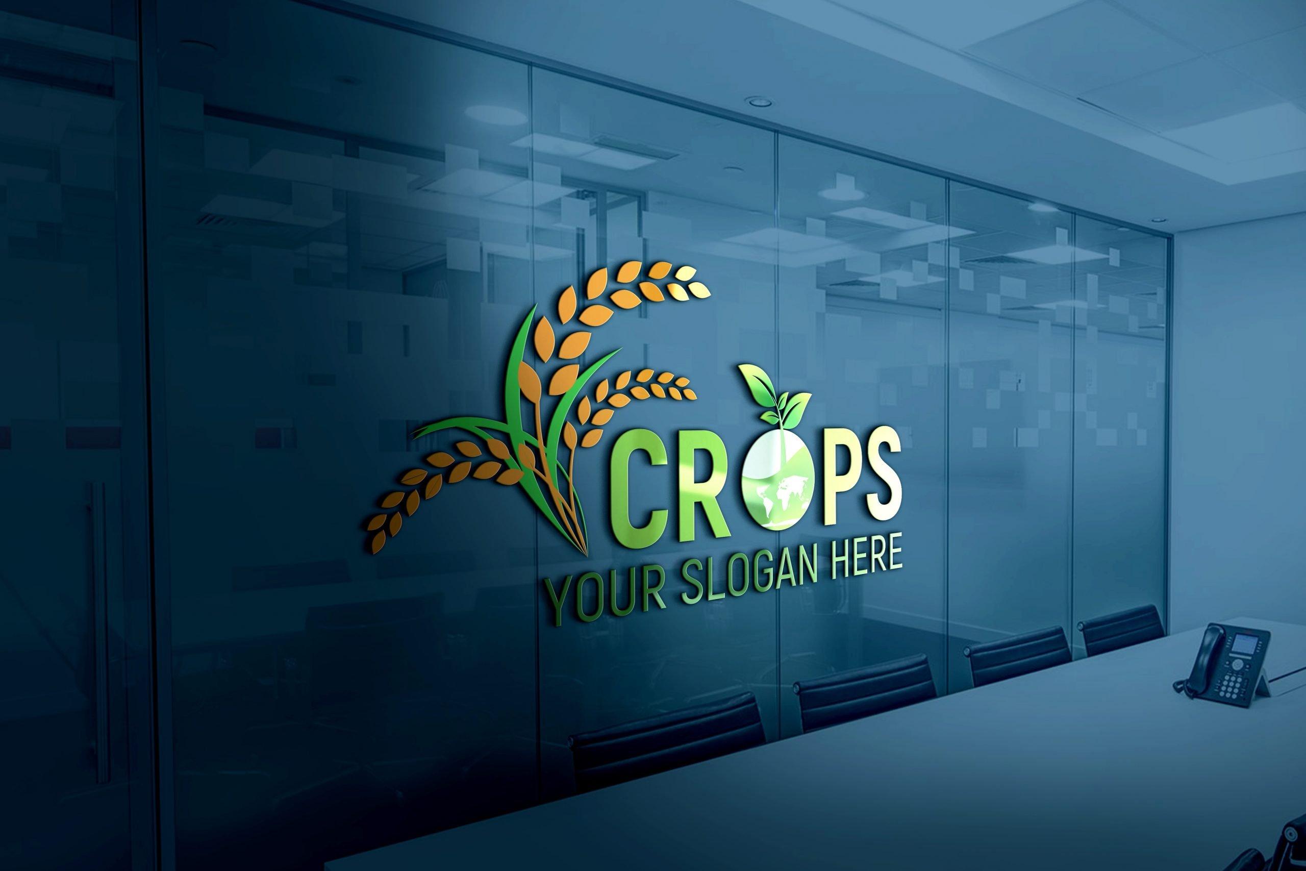 Clean Farm Agriculture Logo Design