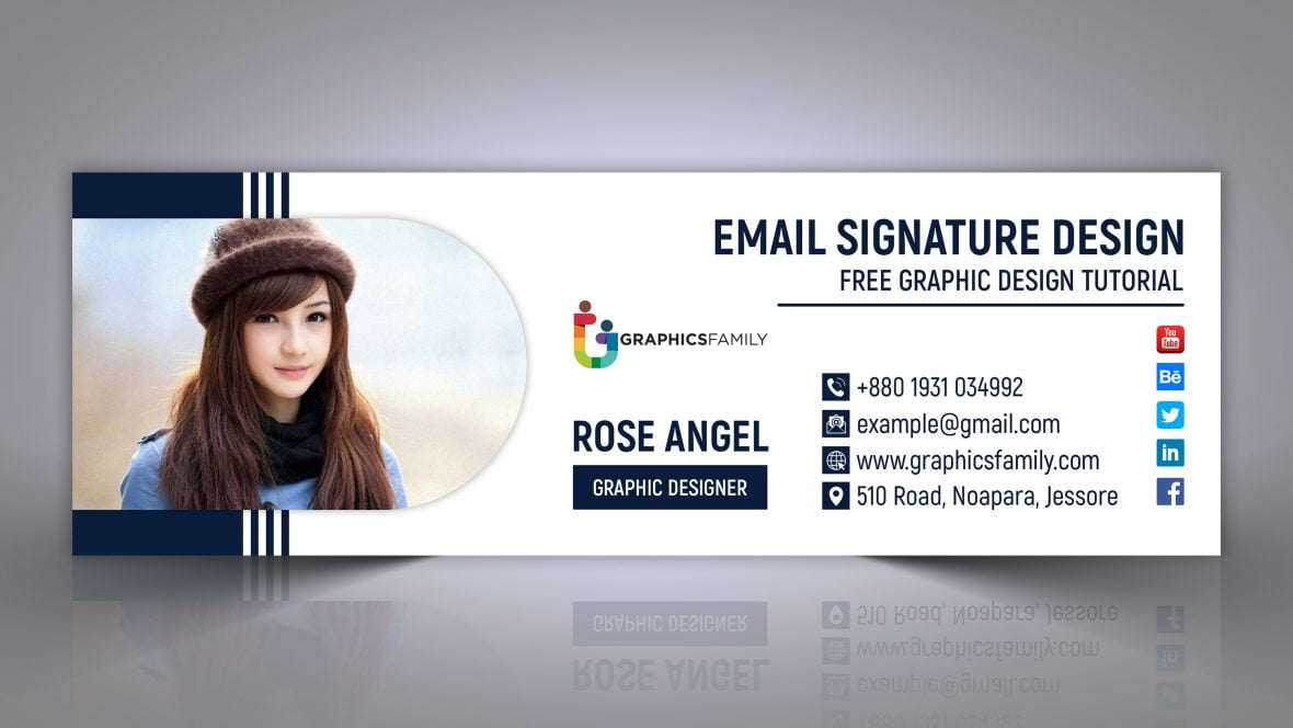 Corporate Professional Creative and Modern Email Signature Design