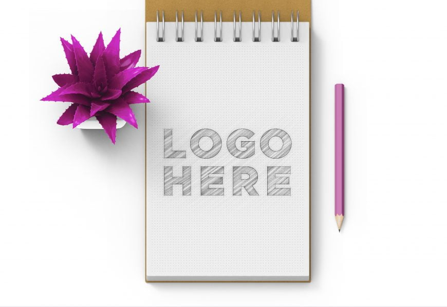 Download-Free-Dotted-Sketchbook-Logo-Mockup