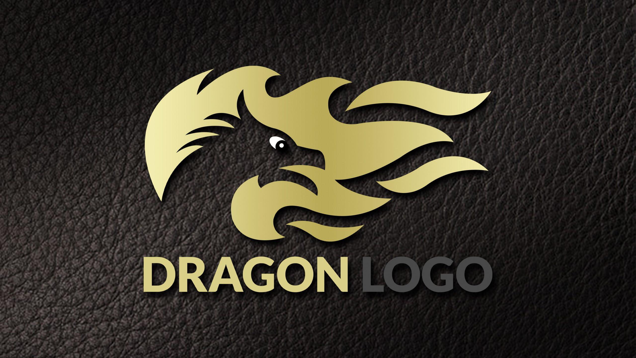 Free Download Dragon Logo Design
