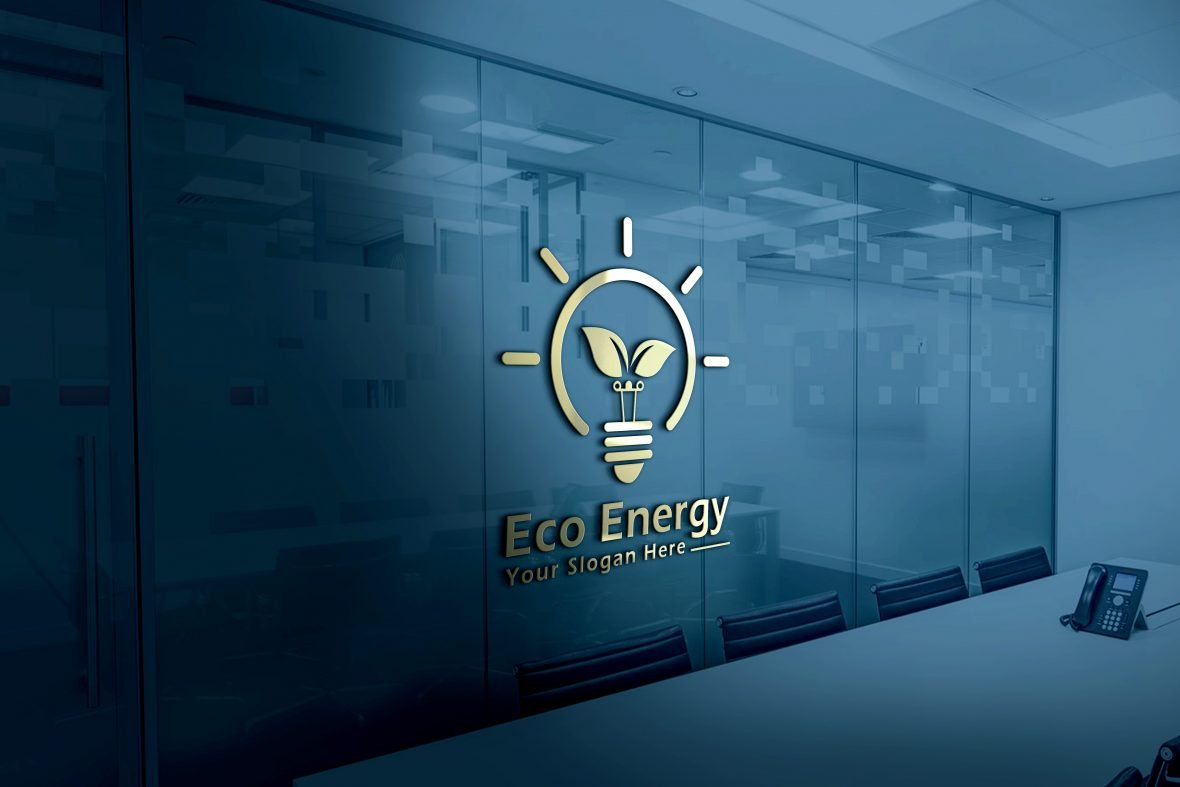 Eco-Energy-Light-Bulb-with-Leaves-Logo-Design-Download