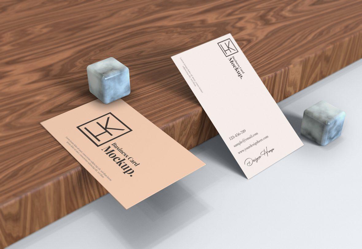 Elegant Business Card Mockup Download