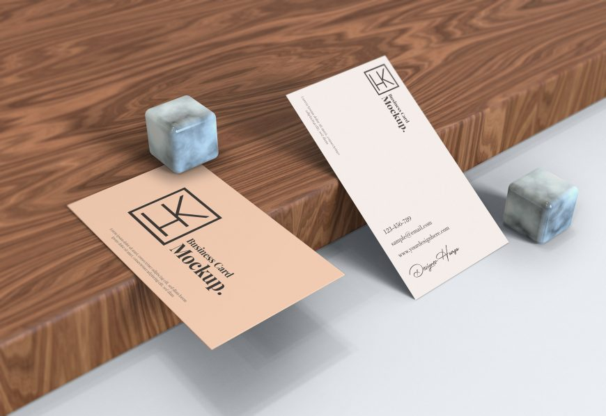Elegant Business Card Mockup Download