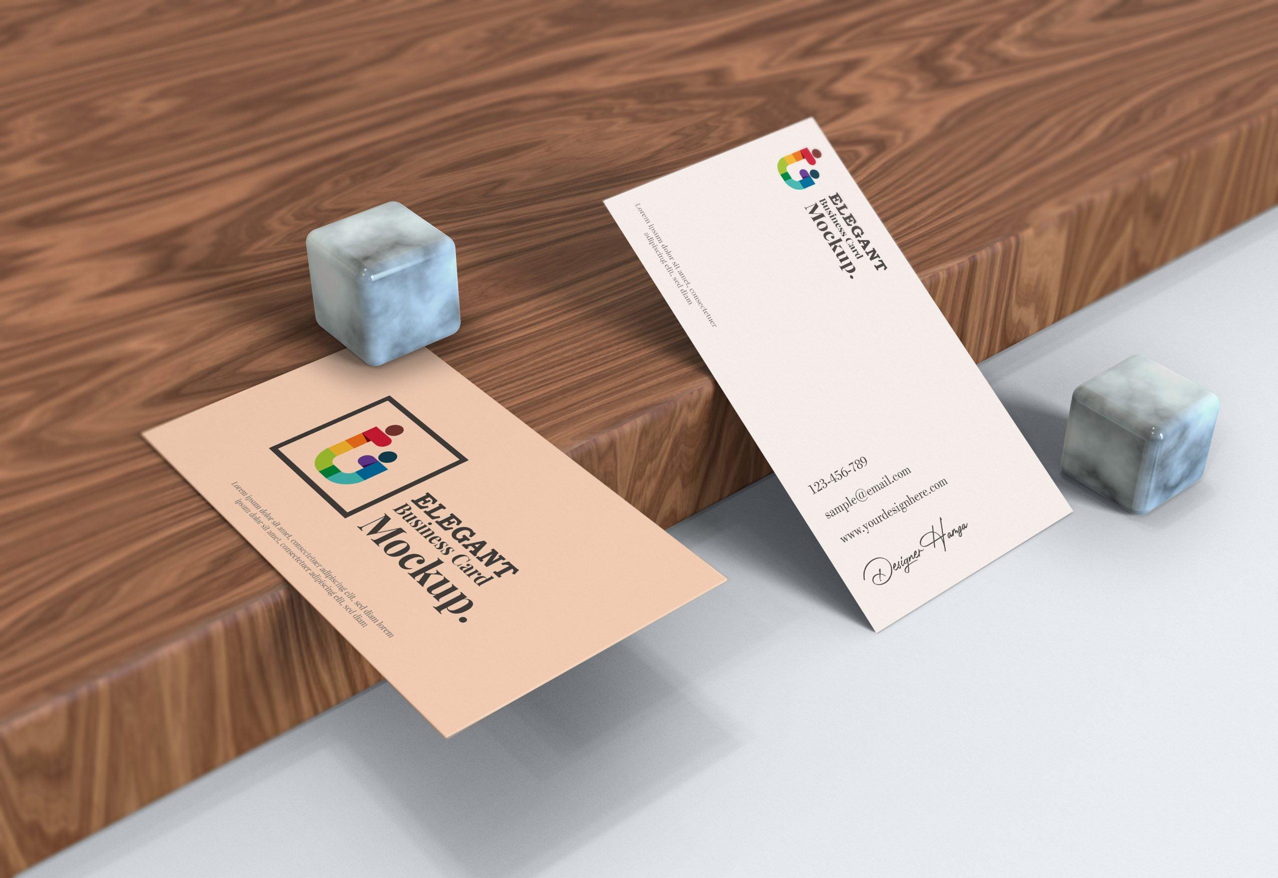Elegant-Business-Card-Mockup-download