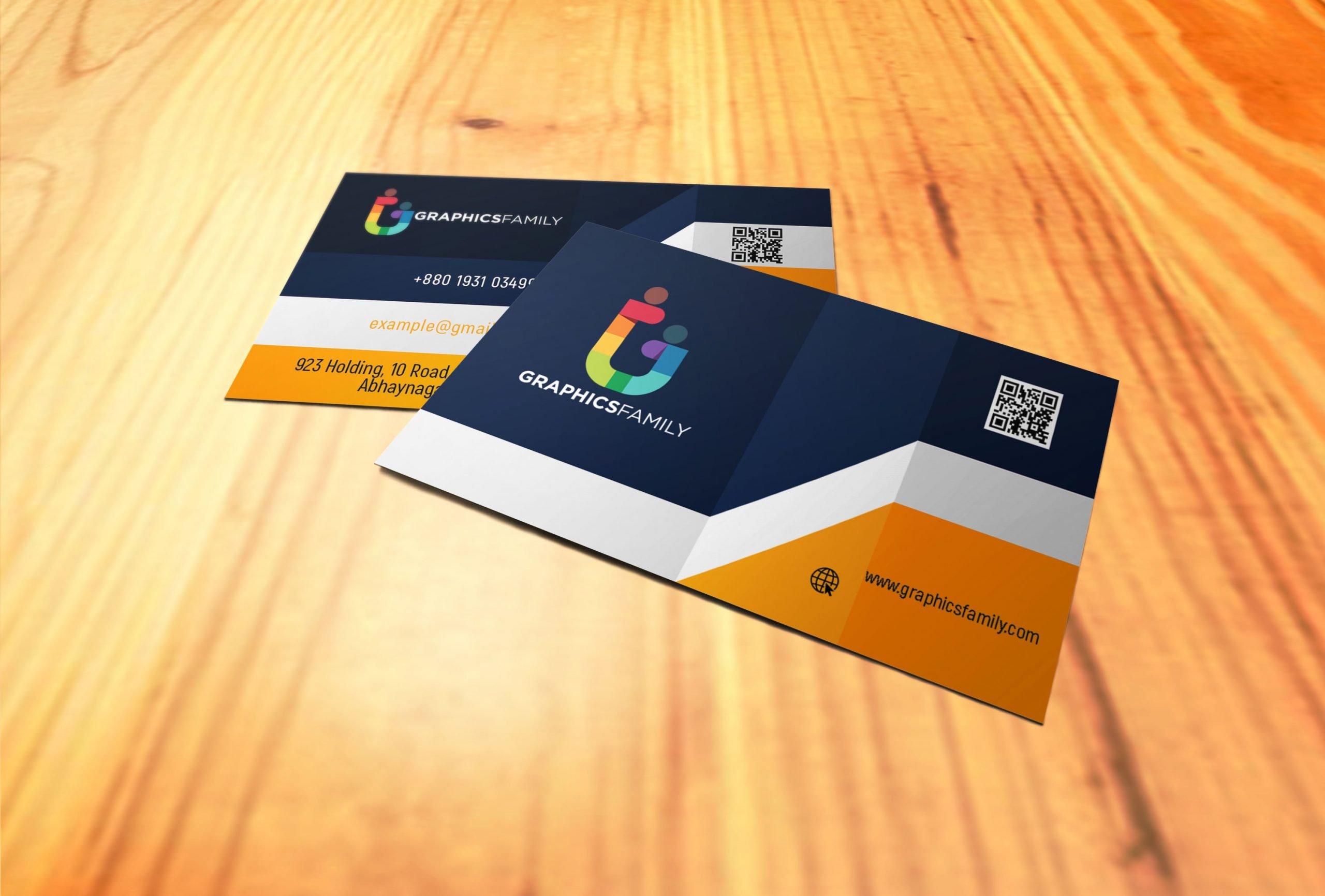 Elegant Realistic 3D Business Card Design Download