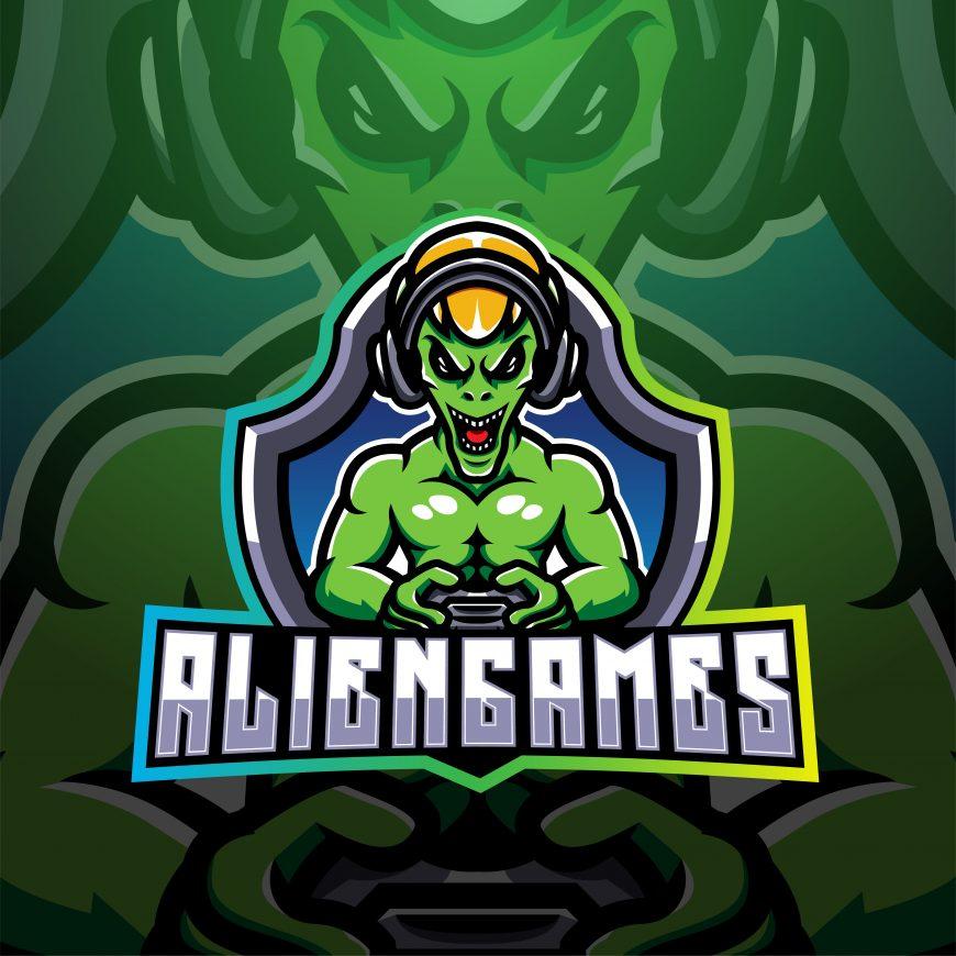 Alien Games Mascot Logo