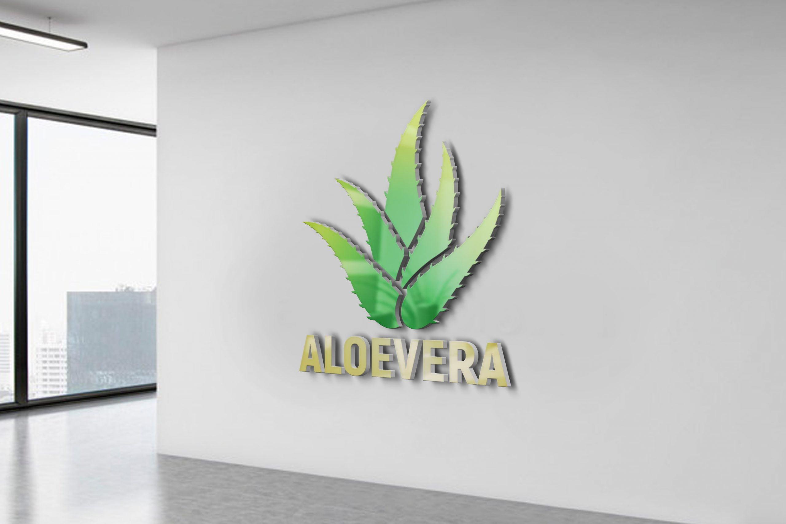 Free-Download-Aloevera-Logo-Design-Free-PSD