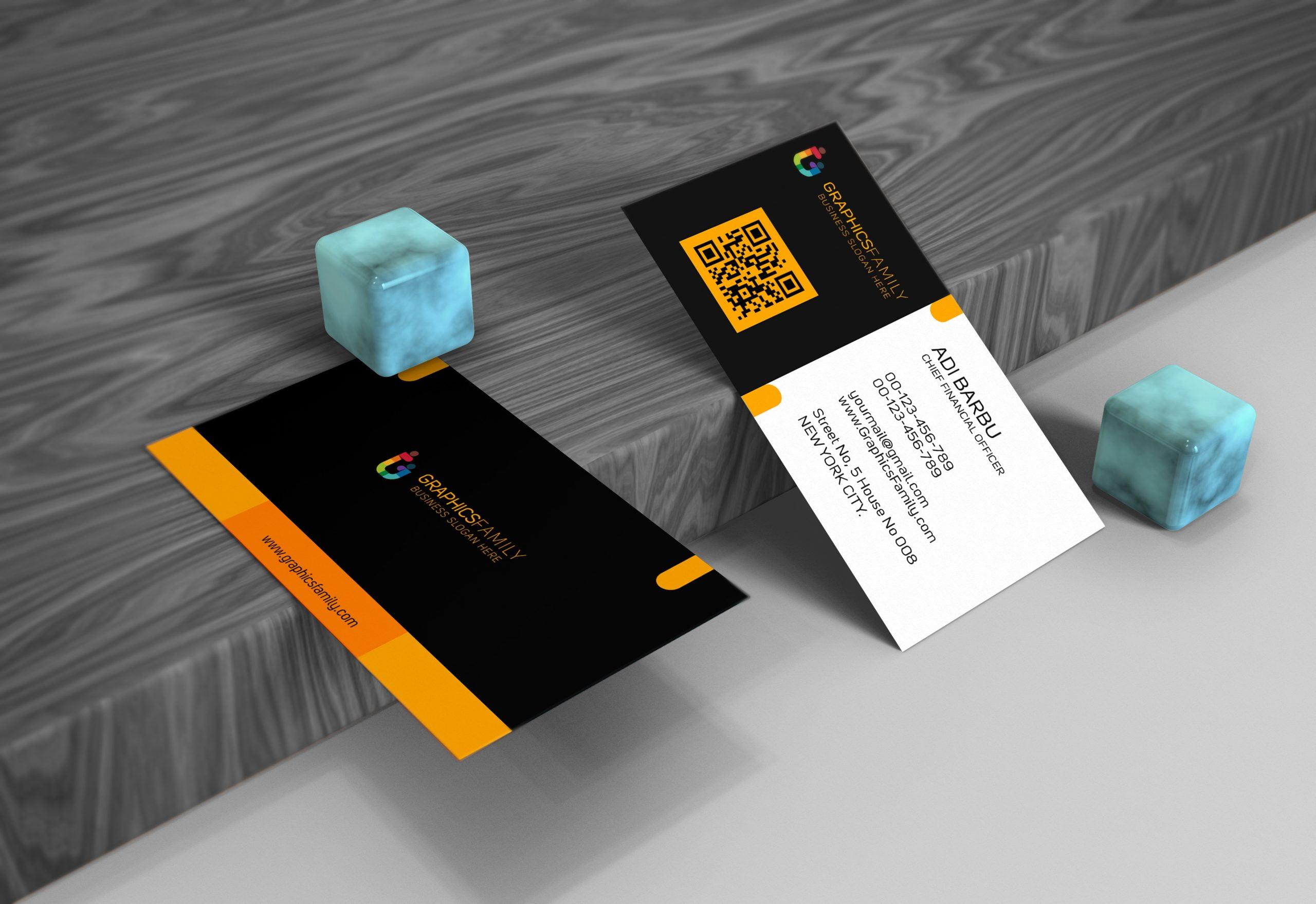 Free-Download-Elegant-Business-Card-Mockup